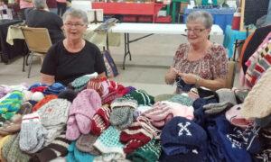 Knitters, Bev & Anne
